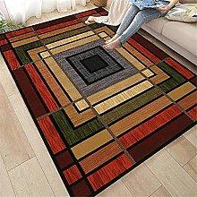 rug for living room Living room rug red striped