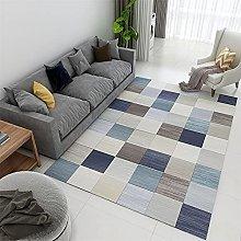 Rug For Living Room Soft Rug Blue coffee color