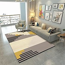 rug for living room Yellow carpet, the floor can