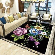 Rug For Living RoomUniversal RugsFlower modern