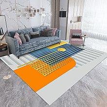 Rug For Living RoomVintage RugsOrange blue