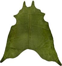 Rug - Genuine cowhide / 4 m2 by Pols Potten Green