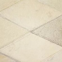 Rug Genuine Leather Patchwork 120x170 cm Diamond