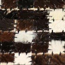 Rug Genuine Leather Patchwork 160x230 cm Square
