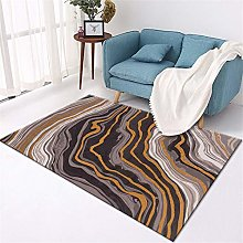 Rug Large Abstract style simple non-slip durable