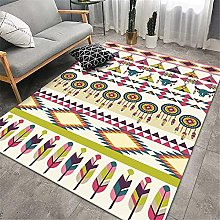 Rug Large Color carpets and rugs Retro style soft
