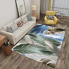 Rug rug for bedroom Blue green gray graffiti