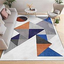 Rug rug for hardwood floors Blue yellow gray