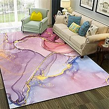 Rug rug for living room Non-slip Pink yellow blue
