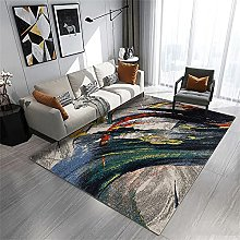 rug runners for hallways Green carpet, ink pattern