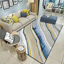 rug sale Blue carpet, modern, easy to vacuum,