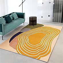 rug sale Light yellow carpet, trees annual wheel