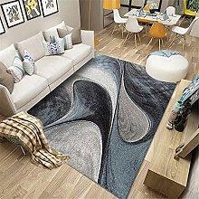 rug small Blue carpet, curve pattern, no color