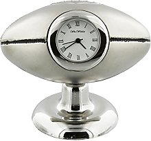 Rugby Ball Novelty Collectors Miniature Clock