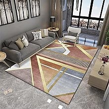RUGMRZ Area Rugs For Living Room Orange series of