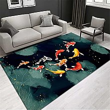 RUGMRZ Area Rugs For Living Room Oriental Carpet