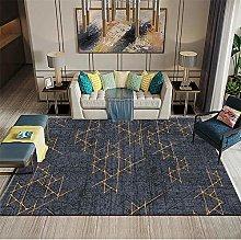 RUGMRZ Beautiful durable Carpets Black pinstripe