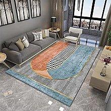 RUGMRZ Bedroom Carpets Orange series of modern