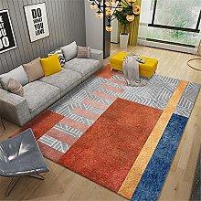 RUGMRZ Bedroom Rug Orange series of modern