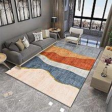 RUGMRZ Big Rug Orange series of modern minimalist