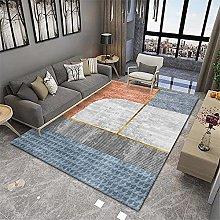 RUGMRZ Carpet Living Room Orange series of modern