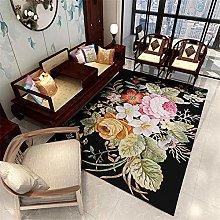 RUGMRZ Carpets And Rugs Carpet pink big flowers