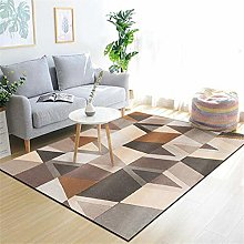 RUGMRZ Carpets And Rugs For Living Rooms Brown