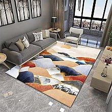RUGMRZ Floor Rug Orange series of modern