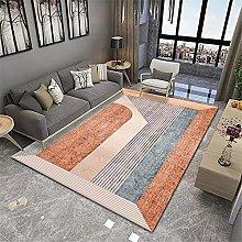 RUGMRZ Lounge Rugs Large Orange series of modern