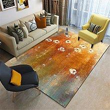 RUGMRZ Navy Rugs For Living Room Large Carpet