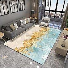 RUGMRZ Rug For Bedroom Geometric abstract modern