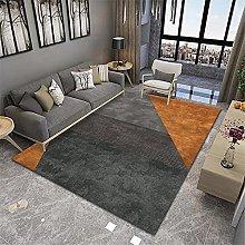 RUGMRZ Rug For Bedroom Orange series of modern