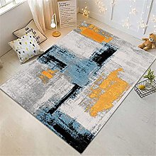 RUGMRZ Rug For Living Room Geometric abstract