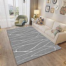 RUGMRZ Rug For Living Room Line modern living room
