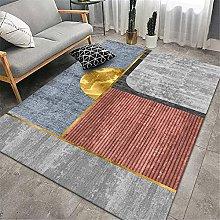 RUGMRZ Rug For Living Room Orange series of modern