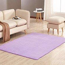 RUGMRZ Simple washable Carpets Lilac simple design