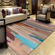 RUGMRZ Soft concise Rug Multicolor old striped