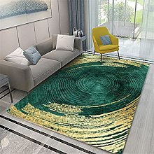 Rugs area rugs for living room Green yellow