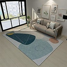 Rugs carpet tiles for stairs Easy to clean blue
