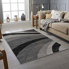RUGS CITY Area Rug Living Room Bedroom Grey Yellow