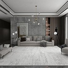 Rugs desk rug Living room gray carpet abstract ink