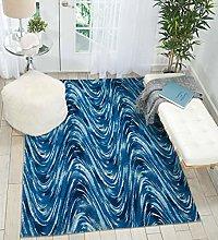 Rugs Direct Rug, Blue, 69cm x 229cm