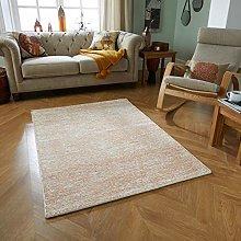 Rugs Direct Rug, Orange, 80cm x 150cm