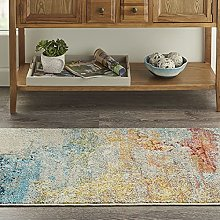 Rugs Direct Rug, Synthetic, Multicoloured, 66cm x