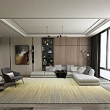 Rugs fireplace rug Yellow gray gradient stripes