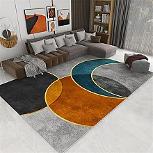 Rugs living room furniture Yellow blue gray