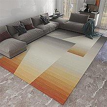 Rugs Living Room Kitchen Mat Orange gray gradient