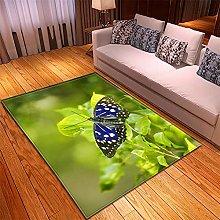 Rugs Living Room Large -100x150cm Green Purple
