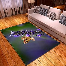 Rugs Living Room Large -100x150cm Green