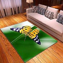 Rugs Living Room Large -130x190cm Purple Green